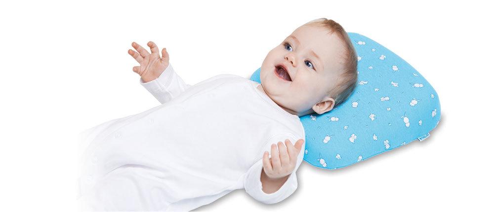 Ортопедическая подушка под голову для детей от 5 до 18 месяцев П09 SWEET Trelax, 25х30х6 (4) см