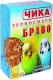 Чика «БРАВО» корм для волнистых попугаев 500 гр. арт. 142.007