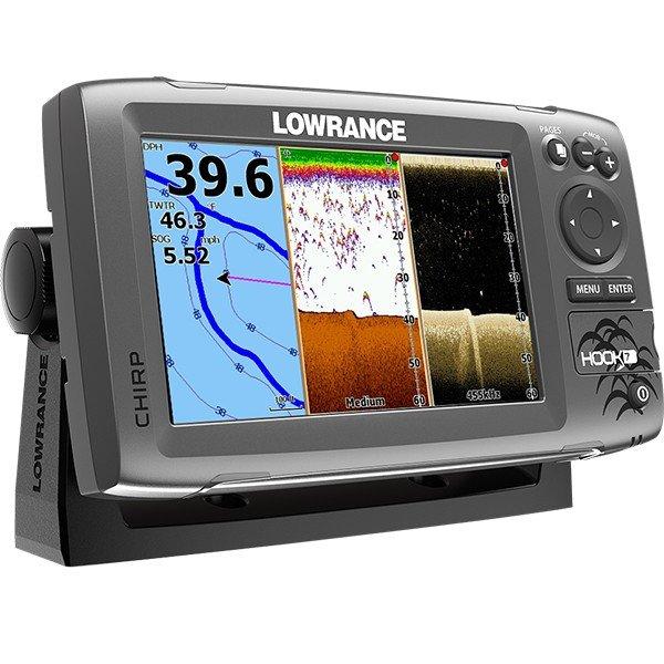 Навигация Lowrance Hook-7 Mid/High/DownScan