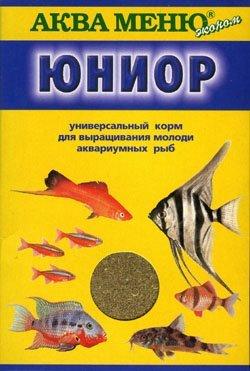 """Корм для молодняка аквариумных рыб """"Аква Меню Юниор"""""""