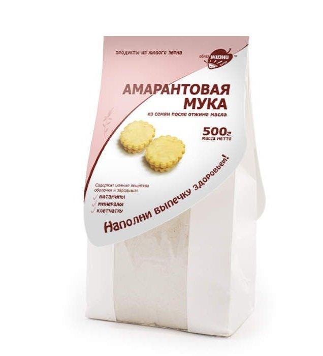 Мука амарантовая 0,5 кг