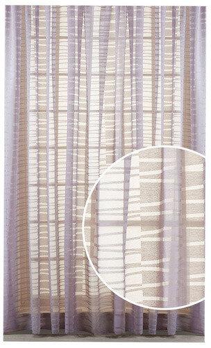 Шторы PRIMAVELLE Oriana, Лилово-серый, на ленте, 140х270 см (61781427-O39)