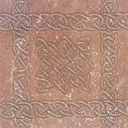 Плитка клинкерная Exagres декор вставка STONE BROWN 15x15