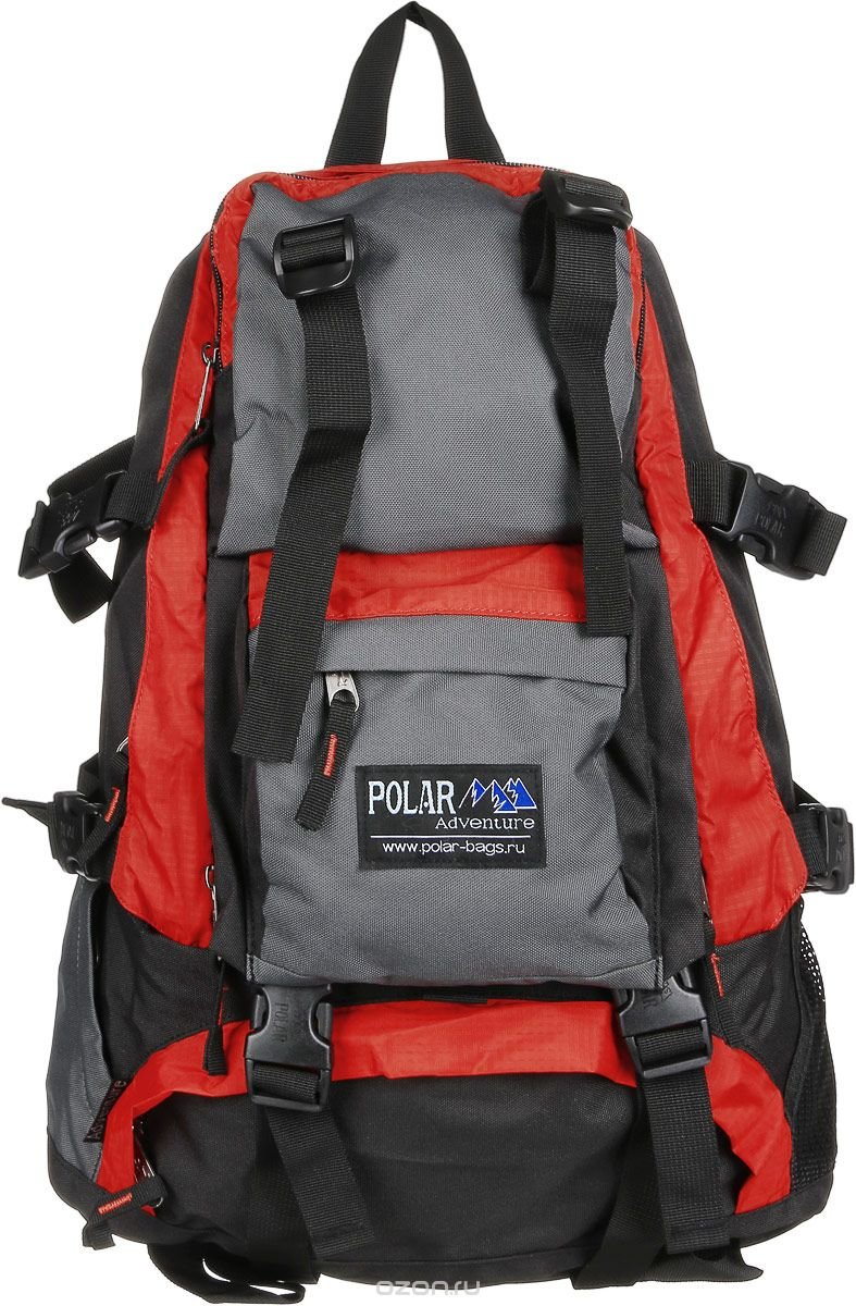Рюкзак городской Polar, 16 л, цвет: оранжевый. П956-02
