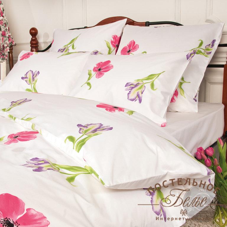 Постельное белье SL33-9-5 Spring melody Pink 1,5 спальное
