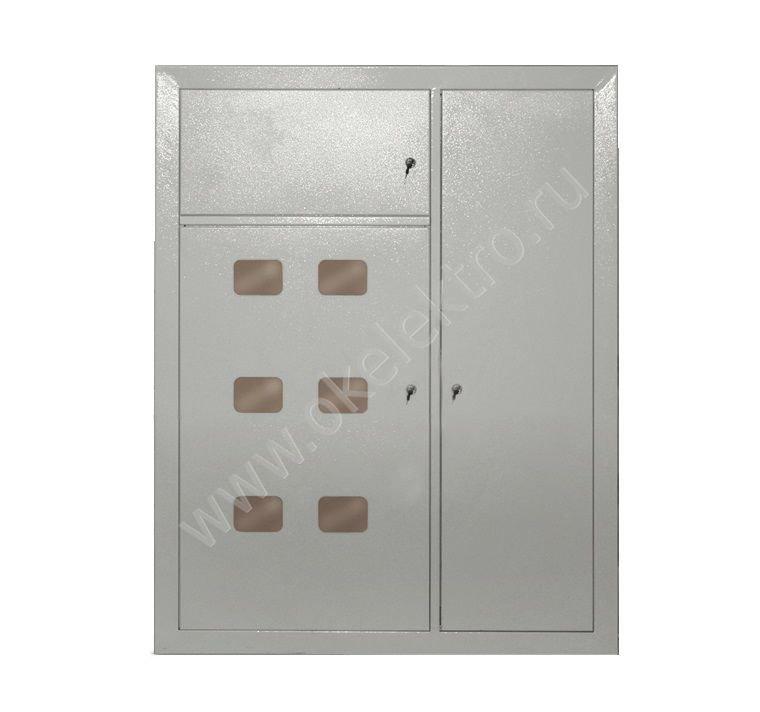Щит металлический этажный ЩЭ-6-1270 36 УХЛ3 IP31