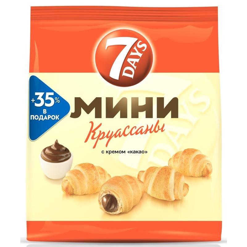 Круассаны 7 days мини с кремом какао 300 г