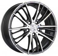 Диски Racing Wheels H-551 7,0x16 5x108 D67.1 ET40 цвет Diamant Black Front Polished - фото 1