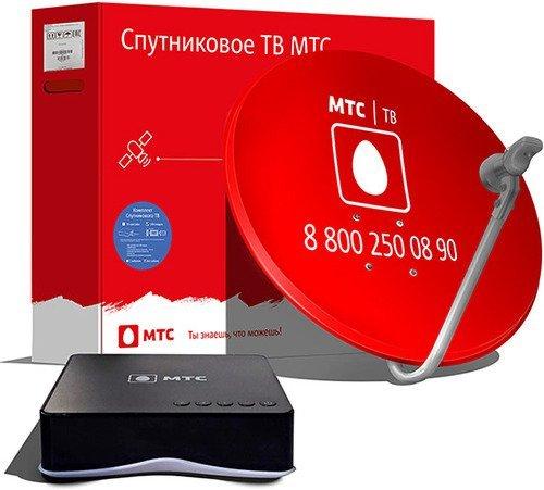 МТС МТС СПБ Онлайн Комплект спутникового ТВ №166