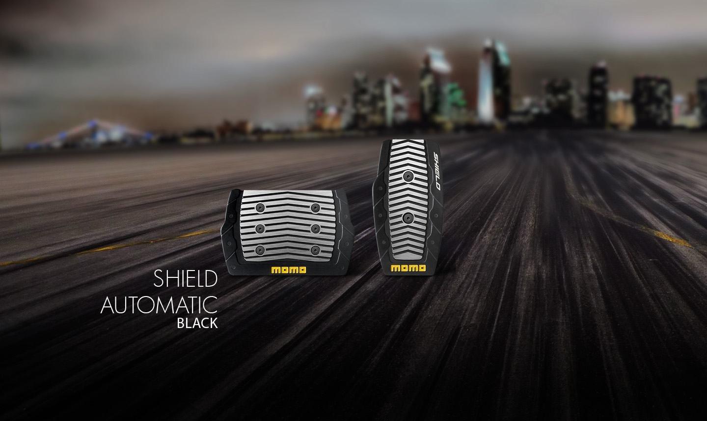 Momo Накладки на педали момо shield-automatic-black
