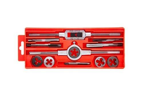 Набор метчиков и плашек 12 шт. Hammer Flex, 601-039, 400856