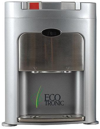 Кулер для воды (Экотроник) Ecotronic C8-TZ с дистанционным забором воды, компрессорное охлаждение, настольный