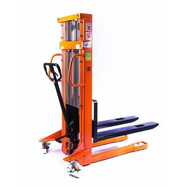 Штабелер ручной гидравлический TOR SDJ1030 грузоподъемность 1.0 тонна высота подъема 3.0 метра