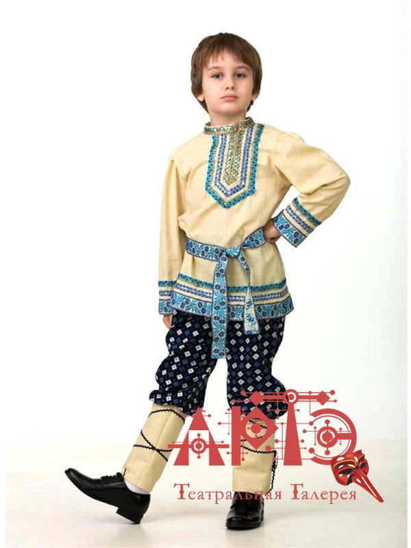"""Карнавальный костюм для мальчика """"Народный"""" (Цв: Не определен Размер: 32)"""