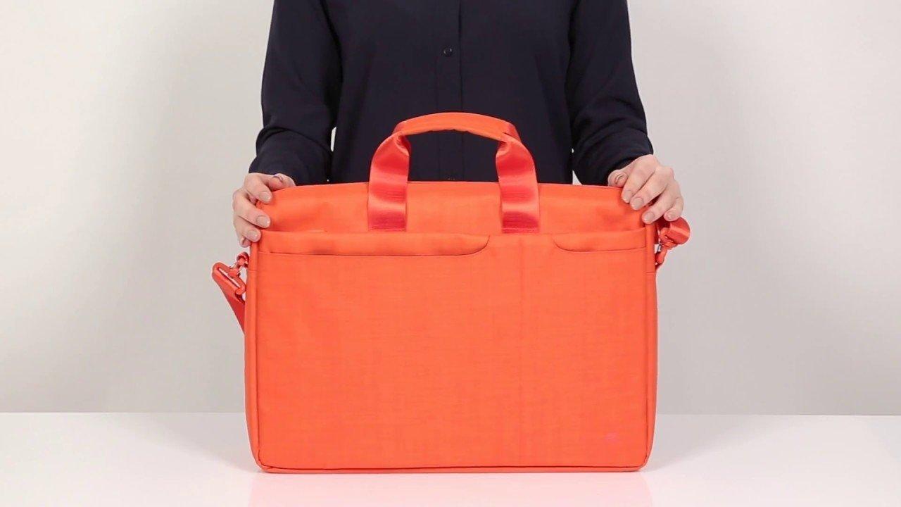 Сумки и чехлы для ноутбуков RivaCase 8335 Orange