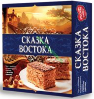 Торт бисквитный Сказка Востока 560 гр.