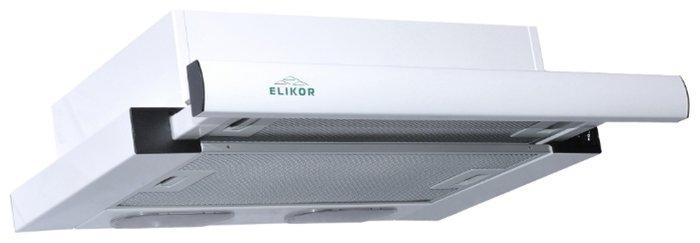 Вытяжка ELIKOR Интегра 60П-400-В2Л, белый/белый