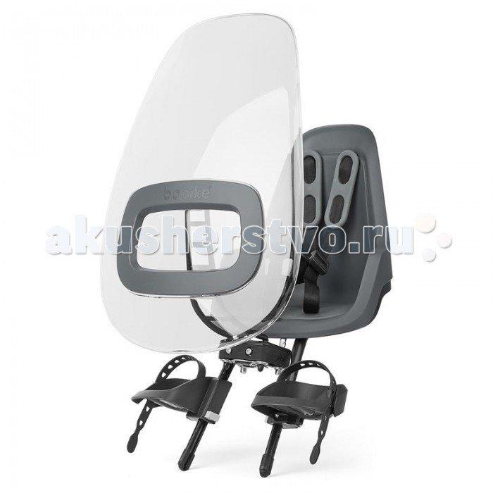 Bobike Ветровое стекло Windscreen ONE Plus для велокресел Серый