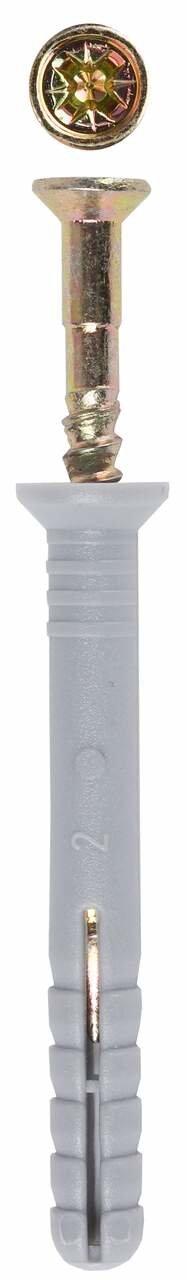 Дюбель-гвоздь потайной бортик 6x40 мм 125 шт Зубр 4-301345-06-040