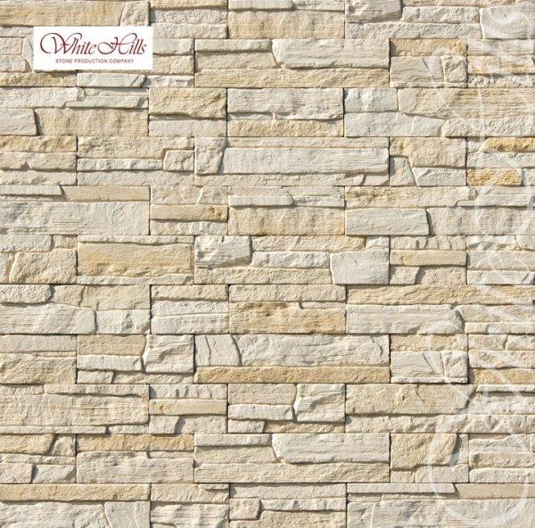 230-10 Искусственный камень White Hills Каскад Рейндж бежевый плоскостной Без шва