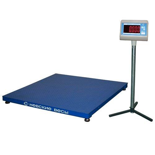 Весы платформенные ВСП4-1000 А 1000х1000 с АКБ