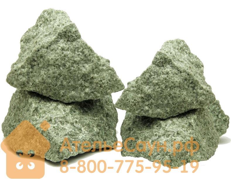 Жадеит колотый (камни для бани), 1 кг