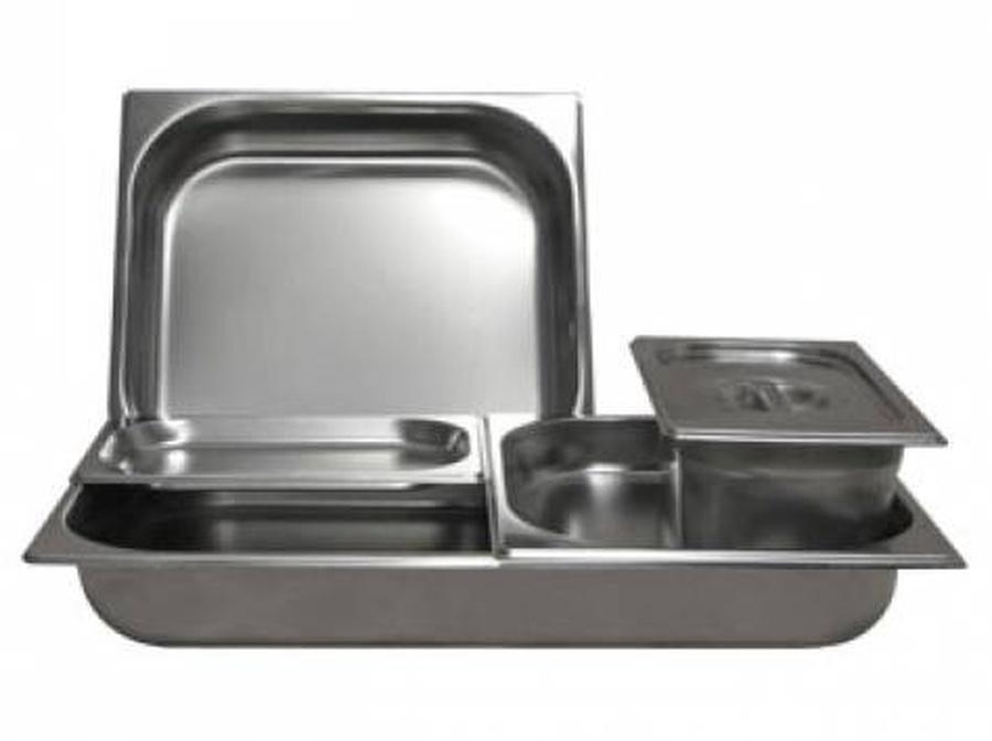 Комплект из 6-ти г/ё для мармита 2-х блюд (1500мм) линии раздачи питания