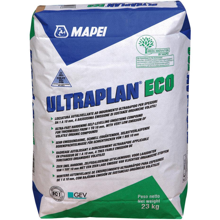 Ultraplan Eco Быстросхватывающаяся самовыравнивающаяся смесь