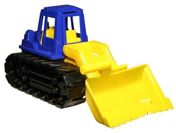 Детские игрушки Нордпласт Трактор «Байкал» с грейдером на гусеницах