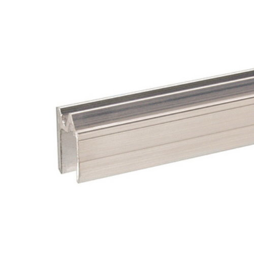 AdamHall 6103 - профиль алюминиевый (паз 9.5 мм), для крышки. Длина 4м (цена за 1 м.).