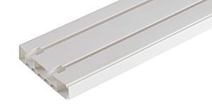 Карниз для штор стандарт 2-х рядный 2,0м