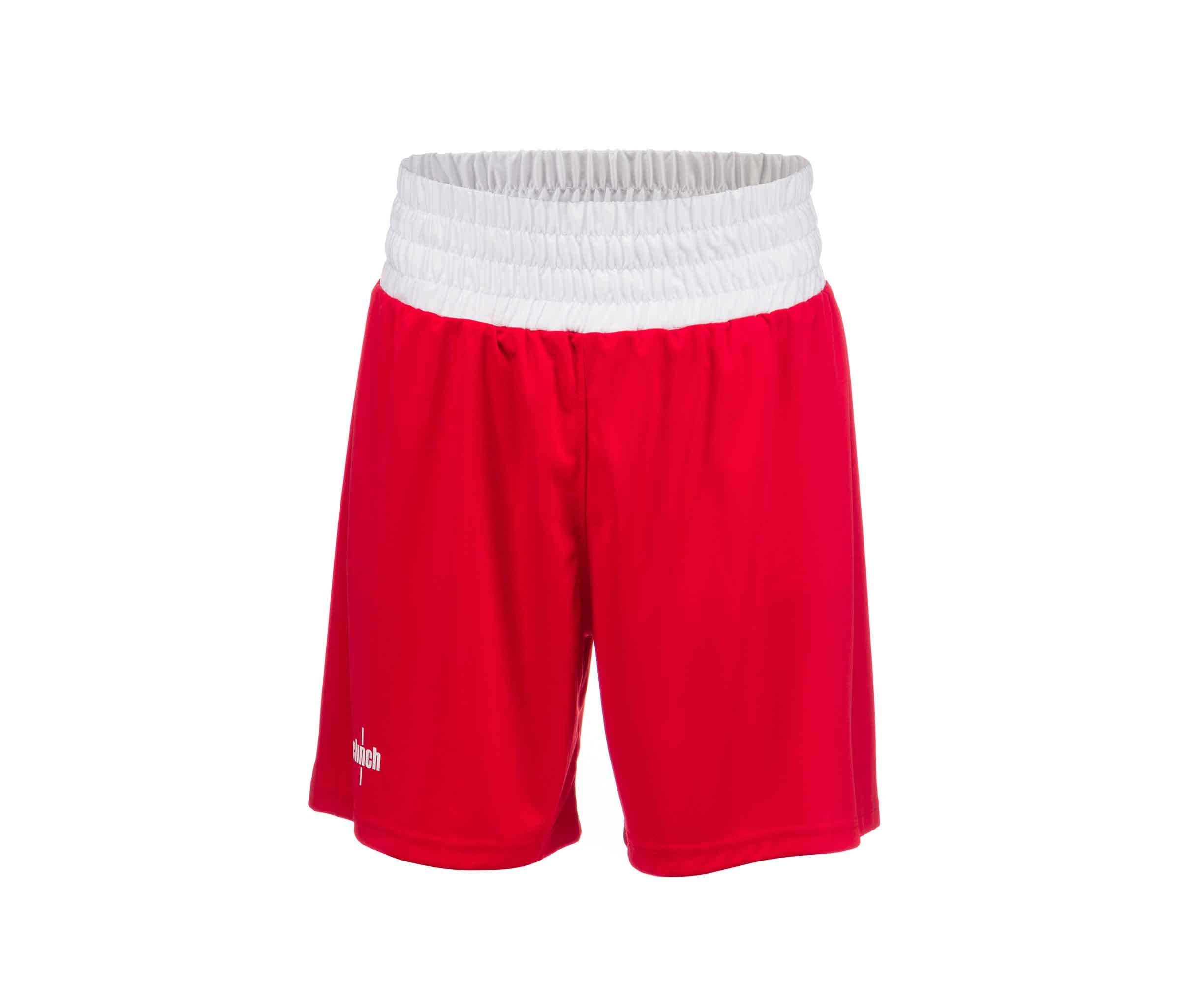 Шорты боксерские Clinch Olimp красные (размер 140)