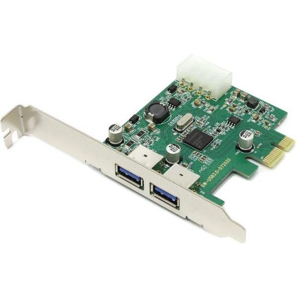 Контроллер USB3.0*2 PCI-E Orient (NC-3U2PE)