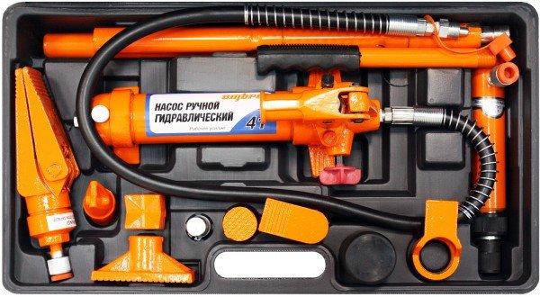 Набор гидравлического инструмента для кузовного ремонта 18 предметов Ombra OHT948M