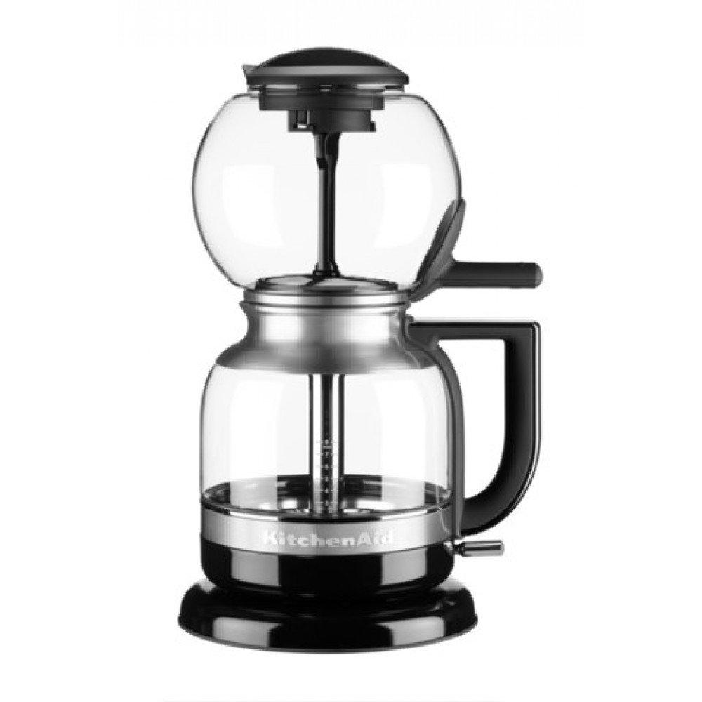 Кофеварка сифонная KitchenAid Artisan, 1л, черная, 5KCM0812EOB