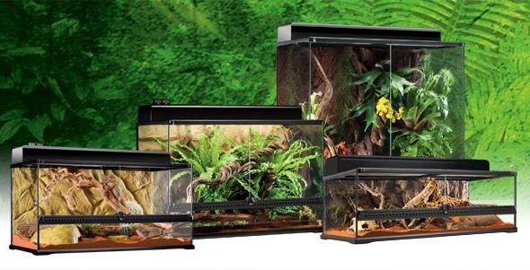 Террариум из силикатного стекла Exo Terra для рептилий (45 х 45 х 30 см)
