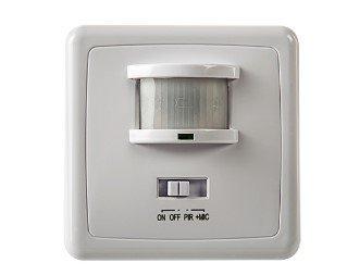 Датчик движения инфракрасный ДД-035-W оптико-акустический 500Вт 140 гр.12м IP20 белый LLT