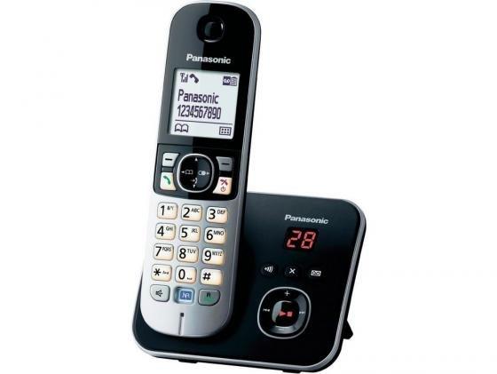 Радиотелефон DECT Panasonic KX-TG6821RUB черный