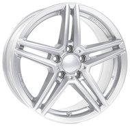 Диски Alutec M10 6.5x16 5x112 ET49 ЦО66.5 цвет polar silver - фото 1