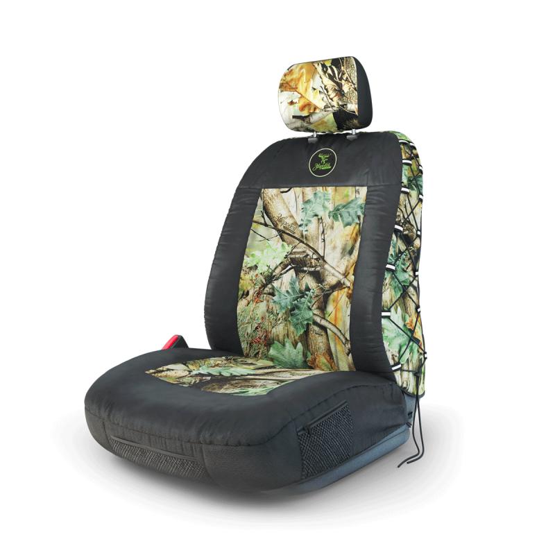 Чехол на передее сиденье Зверобой Зверобой, брезентовая ткань, летний камуфляж, размер S