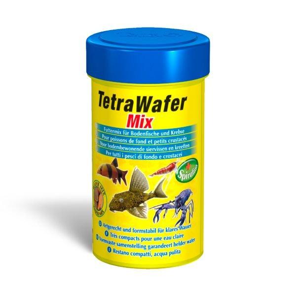 Корм Tetra TetraWafer Mix для донных рыб в виде плотных чипсов (3,6 л)