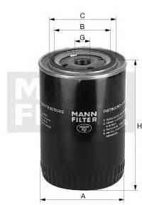 Масляный фильтр Mann-Filter W7030