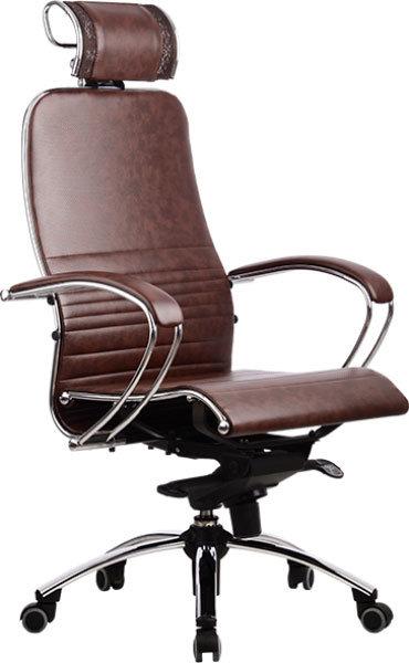 Офисное кресло Метта SAMURAI K-2 (темно-коричневый)