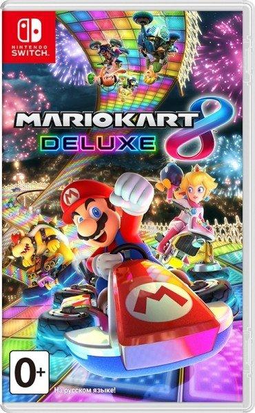 Игра для Nintendo Switch NINTENDO Mario Kart 8 Deluxe, русская версия