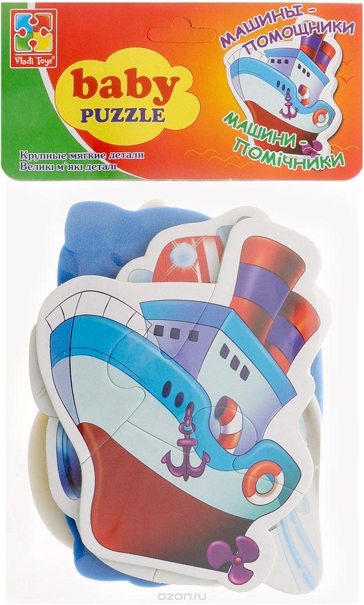 Vladi Toys Мягкие пазлы Baby puzzle Транспорт