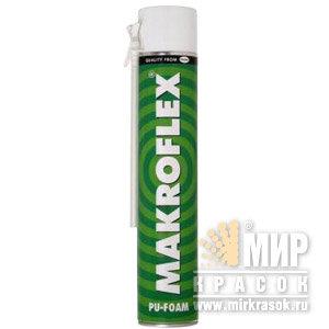 MAKROFLEX пена монтажная, зимняя (1л/0,75л)