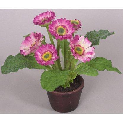 Растение искусственное Роза 18 см