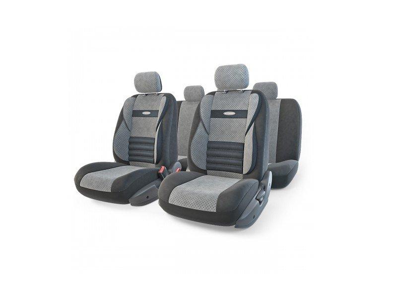 Чехол Autoprofi Comfort Combo Black/Dark-Grey CMB-1105 BK/D.GY M