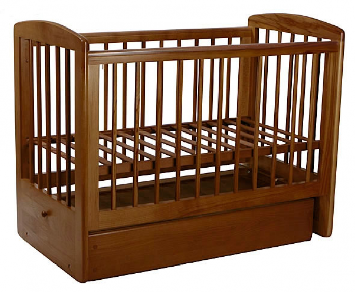Кровать Лель АБ 16.2 Ромашка орех