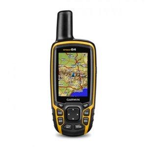 Туристический GPS навигатор Garmin GPSMAP 64 Эргономичный защищенный навигатор: высотомер, компас, беспроводная связь и microSD